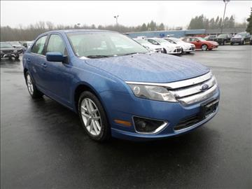 2010 Ford Fusion for sale in Burnt Hills, NY