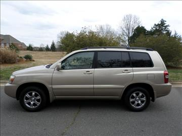 2005 Toyota Highlander for sale in Fort Mill, SC