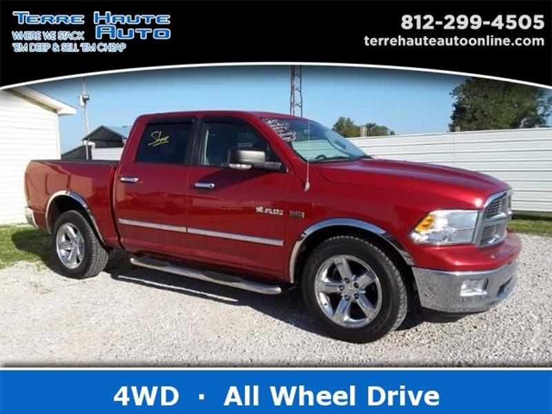 2010 dodge ram pickup 1500 for sale in terre haute in. Black Bedroom Furniture Sets. Home Design Ideas