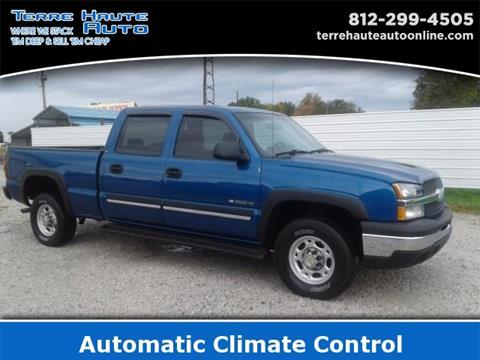 2003 Chevrolet Silverado 1500HD for sale in Terre Haute, IN