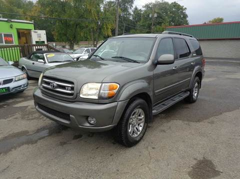 2004 toyota sequoia for sale ohio. Black Bedroom Furniture Sets. Home Design Ideas