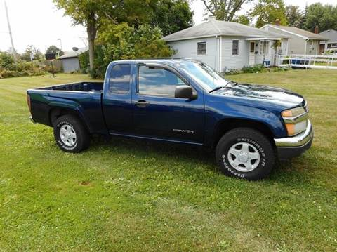 2004 GMC Canyon for sale in Toledo, OH