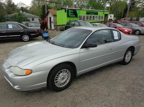 2001 Chevrolet Monte Carlo for sale in Toledo, OH