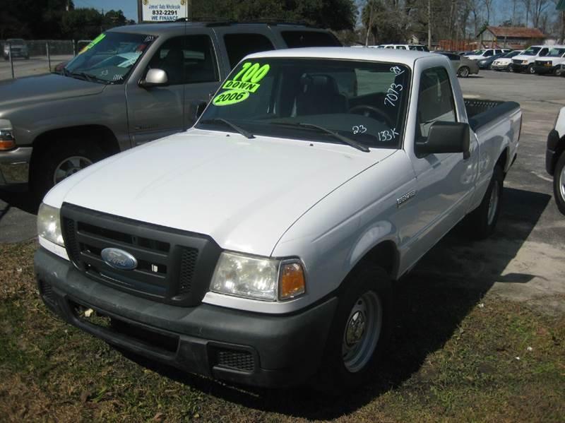 2006 ford ranger xl 2dr regular cab sb in ladson sc james 39 auto wholesale. Black Bedroom Furniture Sets. Home Design Ideas