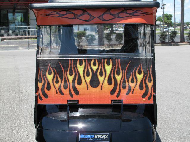 2009 E-Z-GO Txt Flames