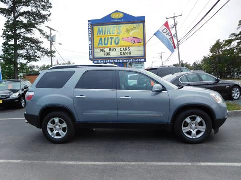 2008 GMC Acadia for sale in Concord, NH