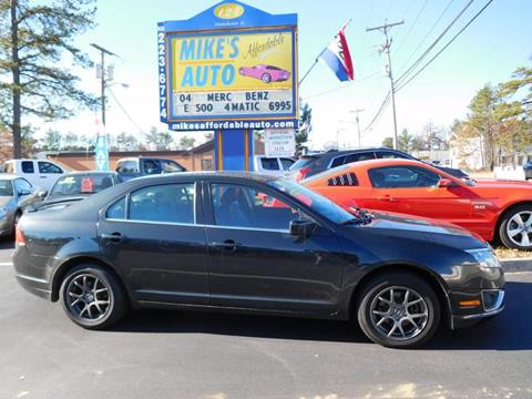Used 2010 ford fusion for sale in new hampshire for Champion motors amherst nh