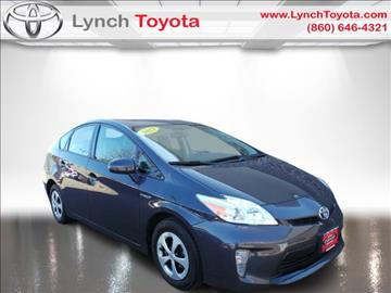2013 Toyota Prius for sale in Manchester, CT