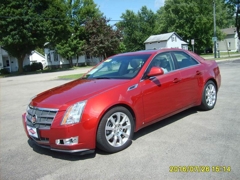 2009 cadillac cts awd 3 6l di 4dr sedan w 1sb w. Black Bedroom Furniture Sets. Home Design Ideas