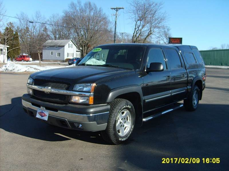 2005 chevrolet silverado 1500 4dr crew cab lt 4wd sb in new london wi north port motors ii. Black Bedroom Furniture Sets. Home Design Ideas
