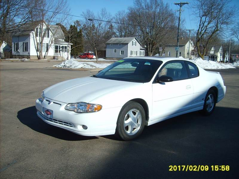 2000 chevrolet monte carlo ss 2dr coupe in new london wi north port motors ii. Black Bedroom Furniture Sets. Home Design Ideas