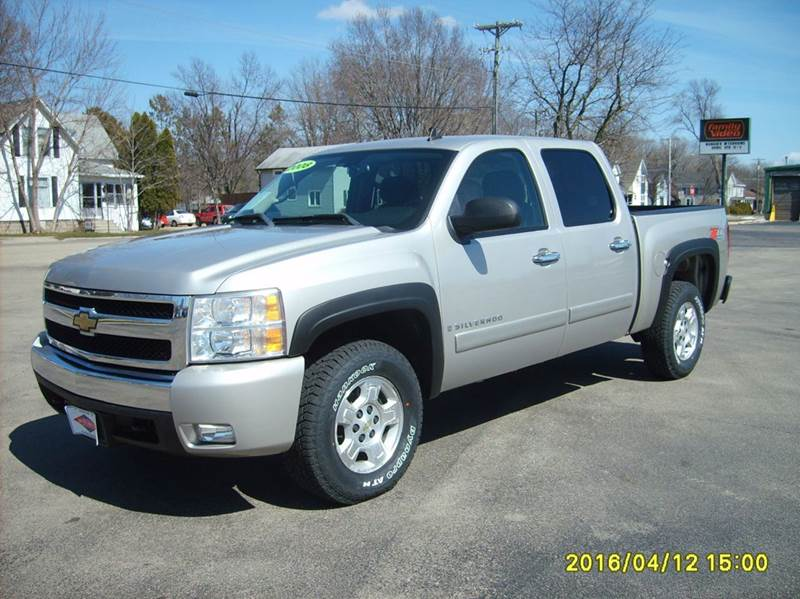 2008 chevrolet silverado 1500 4wd lt1 4dr crew cab 5 8 ft sb in new london wi north port. Black Bedroom Furniture Sets. Home Design Ideas