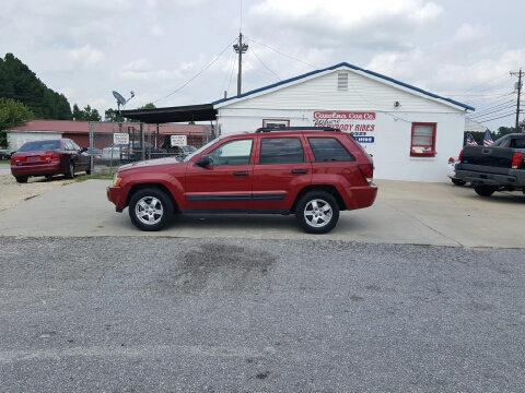 2005 Jeep Grand Cherokee for sale in Greenwood, SC