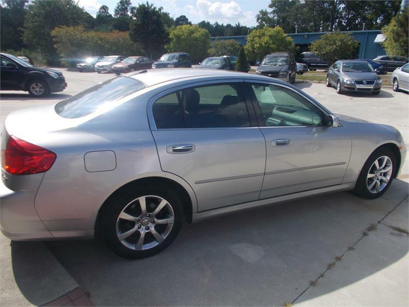 2005 infiniti g35 awd x 4dr sedan in clayton nc liberty. Black Bedroom Furniture Sets. Home Design Ideas