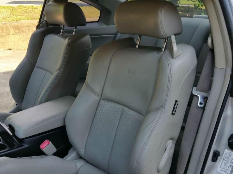 2007 Infiniti G35 Base 2dr Coupe (3.5L V6 5A) - Marietta GA