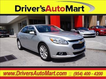 2016 Chevrolet Malibu Limited for sale in Davie, FL