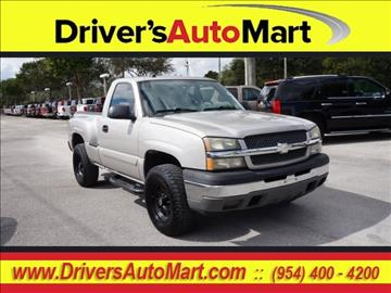 2005 Chevrolet Silverado 1500 for sale in Davie, FL