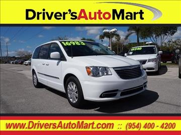2015 Chrysler Town and Country for sale in Davie, FL