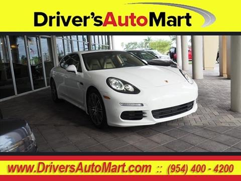 2015 Porsche Panamera for sale in Davie, FL