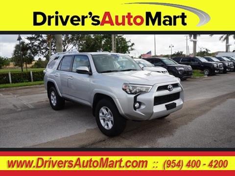 2016 Toyota 4Runner for sale in Davie, FL