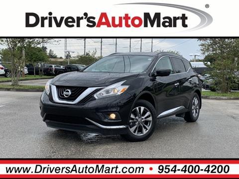 2016 Nissan Murano for sale in Davie, FL