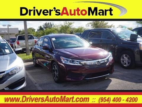 2017 Honda Accord for sale in Davie, FL
