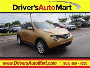 2014 Nissan JUKE for sale in Davie, FL