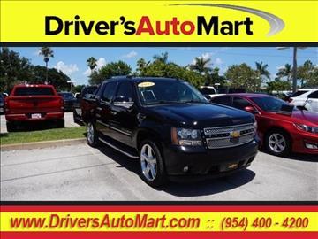 2013 Chevrolet Black Diamond Avalanche for sale in Davie, FL