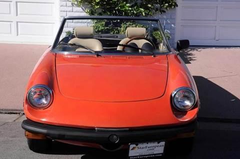 1979 Alfa Romeo Spider for sale in Costa Mesa, CA