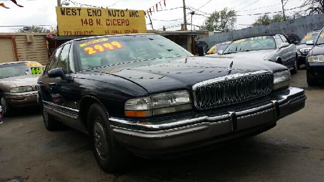 1995 buick park avenue ultra supercharged 4dr sedan in chicago il west end auto inc. Black Bedroom Furniture Sets. Home Design Ideas