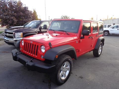 2015 Jeep Wrangler Unlimited for sale in Sandy, UT