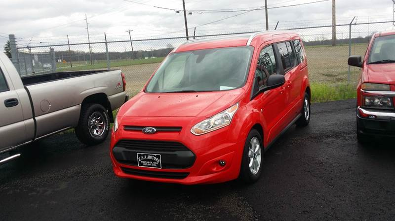 2016 Ford Transit Connect Wagon XLT 4dr LWB Mini-Van w/Rear Liftgate - West Union OH