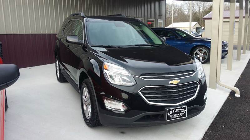 2016 Chevrolet Equinox AWD LT 4dr SUV - West Union OH