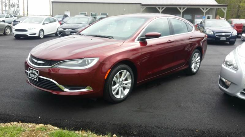 2015 Chrysler 200 Limited 4dr Sedan - West Union OH