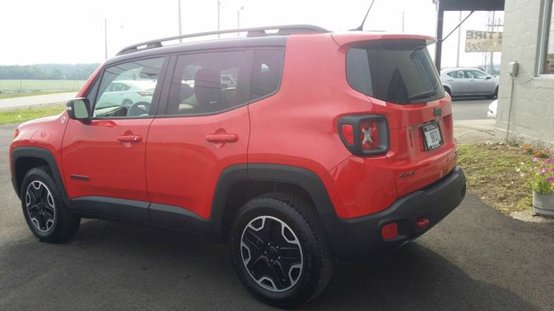 2016 Jeep Renegade 4x4 Trailhawk 4dr SUV - West Union OH