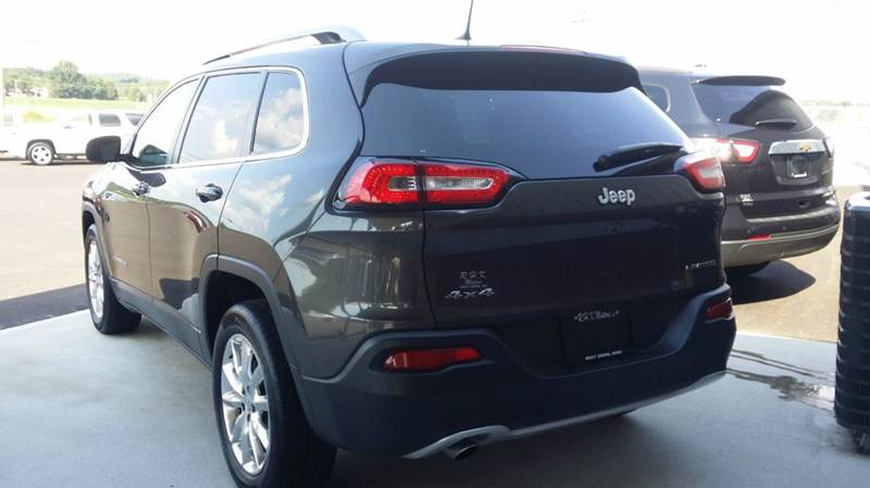 2017 Jeep Cherokee 4x4 Limited 4dr SUV - West Union OH