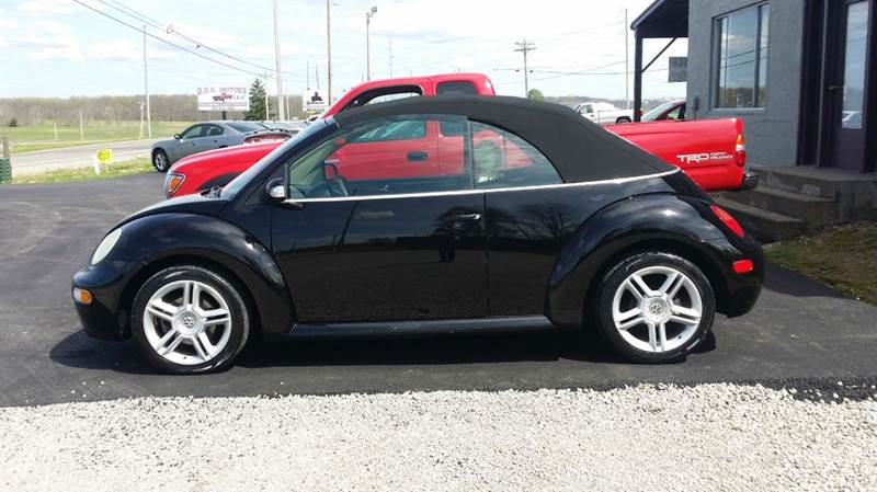 2005 Volkswagen New Beetle 2dr GLS 1.8T Turbo Convertible - West Union OH