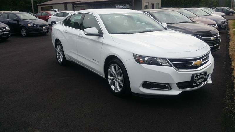 2016 Chevrolet Impala LT 4dr Sedan w/ 2LT - West Union OH