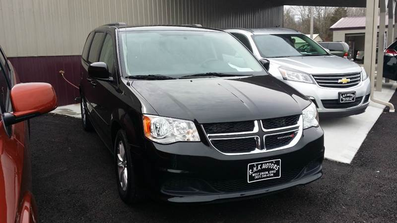 2016 Dodge Grand Caravan SXT 4dr Mini-Van - West Union OH