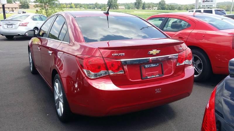 2011 Chevrolet Cruze LTZ 4dr Sedan - West Union OH