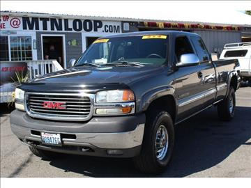 2001 GMC Sierra 2500HD for sale in Marysville, WA