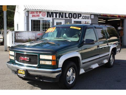 1997 GMC Suburban for sale in Marysville, WA