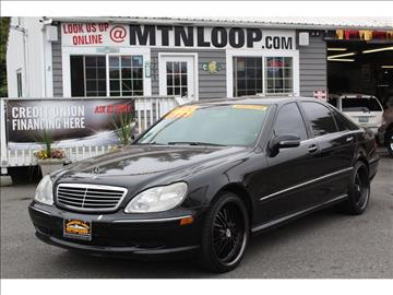 2002 Mercedes-Benz S-Class for sale in Marysville, WA