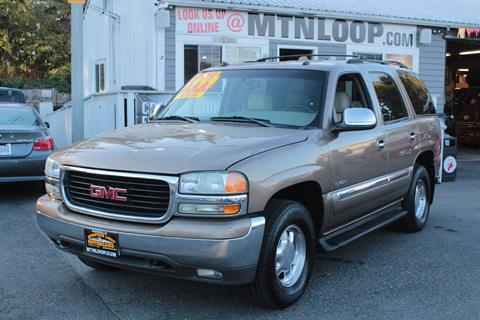 2003 GMC Yukon for sale in Marysville, WA