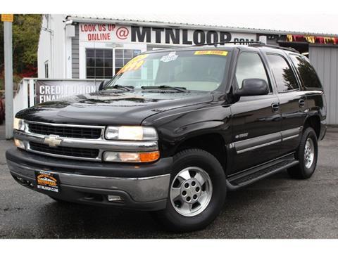 2002 Chevrolet Tahoe for sale in Marysville, WA