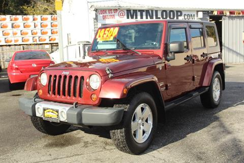 2008 Jeep Wrangler For Sale >> 2008 Jeep Wrangler Unlimited For Sale In Marysville Wa