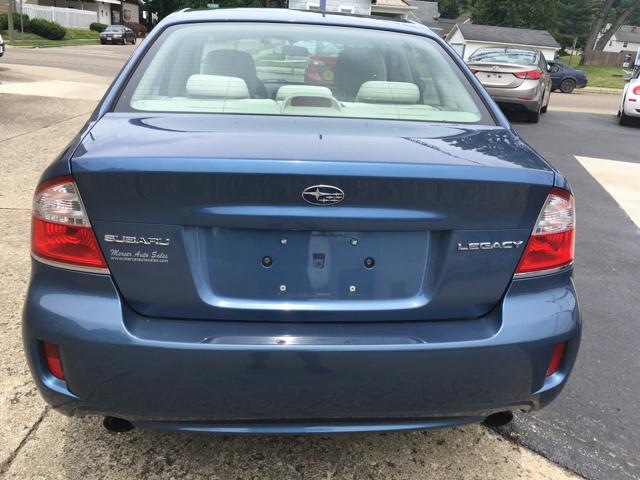 2008 Subaru Legacy AWD 2.5i Special Edition 4dr Sedan 4A - Logan OH