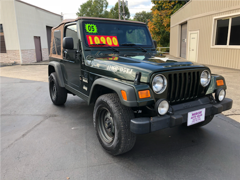 2005 Jeep Wrangler for sale in Logan, OH