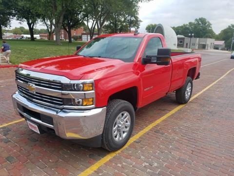 2017 Chevrolet Silverado 2500HD for sale in Tecumseh, NE