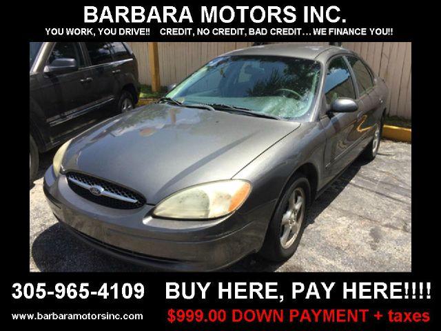 2003 ford taurus se ffv 4dr sedan in hialeah hialeah for Barbara motors inc hialeah fl